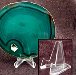 Agate Slab Stand - Plastic Small