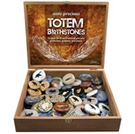 Totem Birth Stone Display - Assorted (72/display)