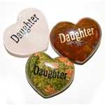 Puffy Heart Gems (Engraved) - Daughter (6)