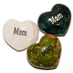 Puffy Heart Gems (Engraved) - Mom (6)