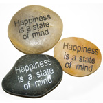 Inspiration Stones - Happiness is a state of mind (6)