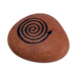 Talisman Stones - Coiled Snake (6)