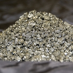 Pyrite grains - 2-7mm (1 lb)