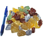 Mineral and Fossil Treasures - Calcite in natural colours (Size 0) (35 pcs)