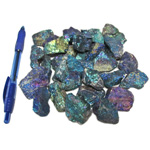 Mineral and Fossil Treasures - Peacock Ore (Size 1) (28 pcs)
