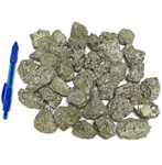 Mineral and Fossil Treasures - Pyrite (Size 1) (36 pcs)