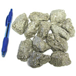 Mineral and Fossil Treasures - Pyrite (Size 3) (12 pcs)