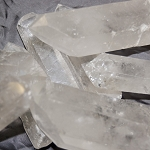 Laser Quartz Points - Large (1 lb)