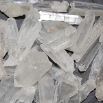 Laser Quartz Points - Medium (1 lb)