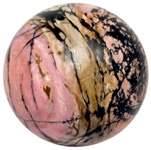 Gemstone Sphere Request - Rhodonite
