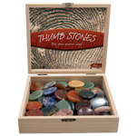 Thumbstone Wood Box Display (72/display)