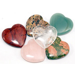 Mini Hearts - Assorted 25 mm (36)
