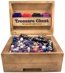 Treasure Chest Display - Stone (11 lb) / Magnetic Hematite Combo (22lb)