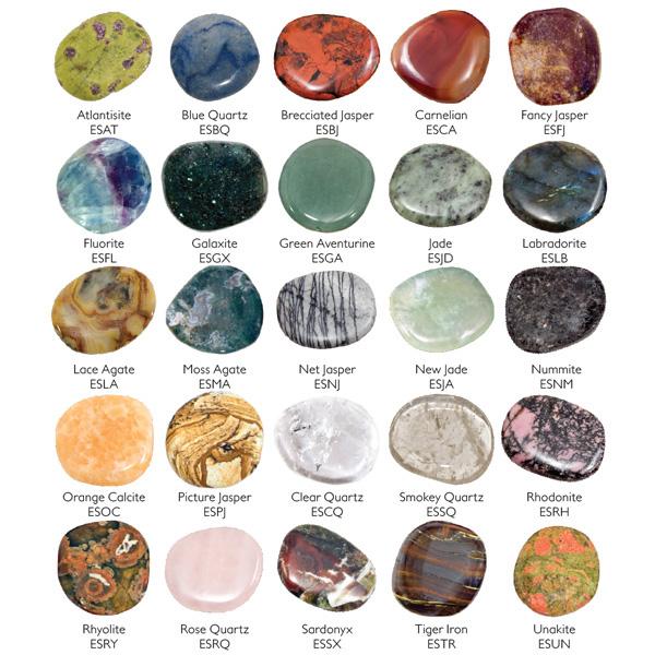 Earth Stones 12 Lb Display Pocket Stones Worry