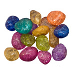 Crackle Quartz Mix Tumbled Stones (5 lb)