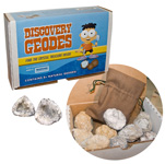 Discovery Geodes Kit - 8+ geodes with gem bags (6)