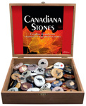 Canadiana Stone Display - Assorted (72/display)