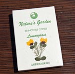 Natures Garden Incense Cones - Lemongrass (5)