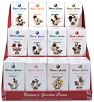 Natures Garden Incense Cones Display - Assorted (60/display)