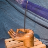 Wood Incense Holders - Meditation Hand
