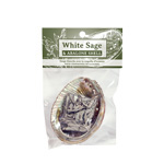 Zenature White Sage and Abalone Shell Set (12)