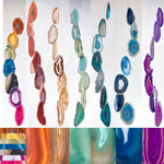 Agate Wind Chimes - (Small) Assorted (12)
