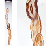 Agate Wind Chimes - (Small) Natural