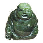Laughing Buddha (1.5 inch) - Canadian Jade