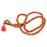 Japa Mala (Prayer Beads) - Rudraksha Seeds (9 mm)