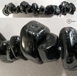 Gemstone Chip Bracelet - Black Tourmaline (3)
