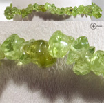Gemstone Chip Bracelet - Peridot (3)