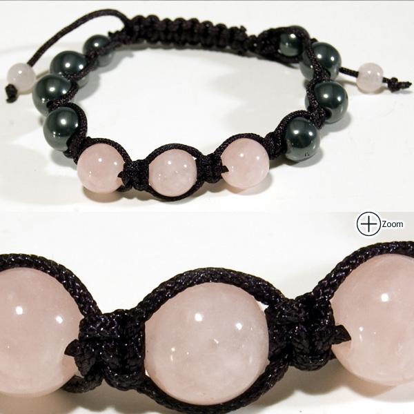 Gemstone Shamballa Bracelet Gemstone Shamballa Bracelet