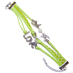 Multi-strand Love Bracelets - Green (2)
