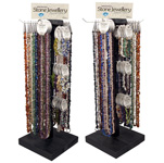 Bracelet and Necklace Display - Gemstone Chip (pre-pack)