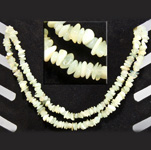 Gemstone Chip Necklace (36 inch) - New Jade (Serpentine)
