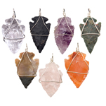 Arrowhead Pendant - Assorted (15)