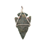 Arrowhead Pendants - Bloodstone (3)