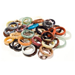 Gemstone Rings - (48)