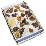 Citrine Cluster Specimens Box - Brazil (3 lbs)