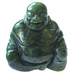 Laughing Buddha (2.5 inch) - Canadian Jade
