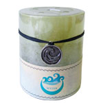 Zenature Elemental Pillar Candles - Ocean / Water (2)