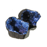 Cracked Coloured Geodes - Blue