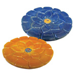 Ceramic Incense Holders - Lotus Flower