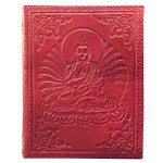 Zenature Leather Journal - Buddha (6 x 8 inch)
