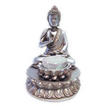 Buddha and Lotus Candle Holder