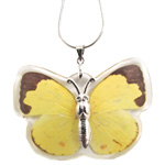 Insect Pendant - Yellow Butterfly