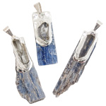 Kyanite with Quartz Pendant