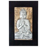 Zen Buddha Wall Plaque