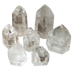 Cut Base Point Request - Clear Quartz