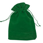 Velvet Gem Bags - Green Medium (12)